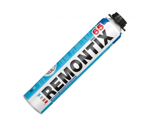 Пена монтажная REMONTIX PRO 65 зимняя, 850 мл.