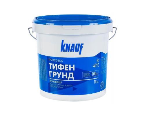 Грунтовка Тифенгрунд KNAUF, морозостойкая, ведро 10 кг.