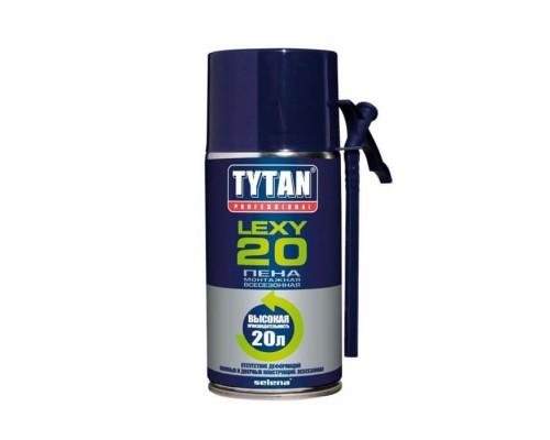 Пена монтажная бытовая Tytan Professional Lexy20 всесезонная, 300 мл.