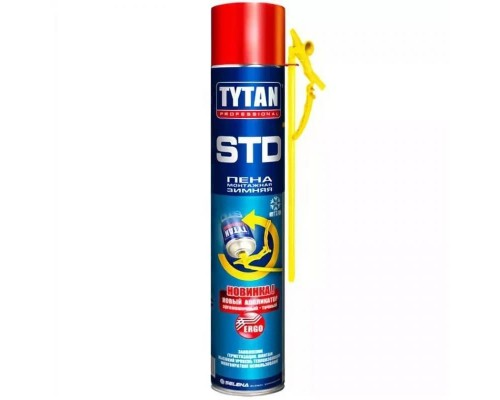 Пена монтажная бытовая Tytan STD ЭРГО, 750 мл.