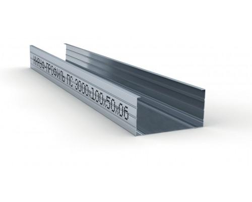 Профиль стоечный для гипсокартона ПС 100*50*3000 Кнауф (Knauf)