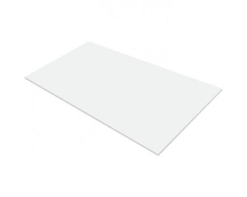 Профлист плоский 0,4 мм., белый