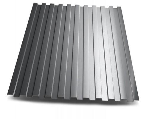 Профлист C-8 цинк 0,4 мм серый
