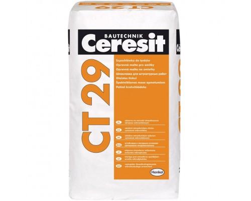 Штукатурка и ремонтная шпаклевка Церезит СТ29 (Ceresit CT29) для минеральных оснований, 5кг