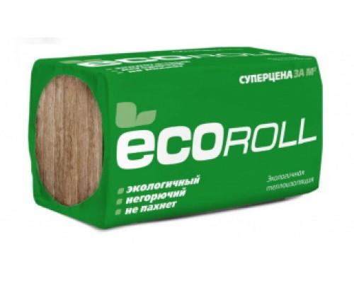 Теплоизоляция ЭКОРолл+ TS040 1230*610*100х8 (6м2, 0,6м3, 48уп/пал)