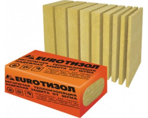 Плиты теплоизоляционные Тизол ЕвроБлок 45-65 (1000*600*50; 12шт/уп,0,36м3/уп)