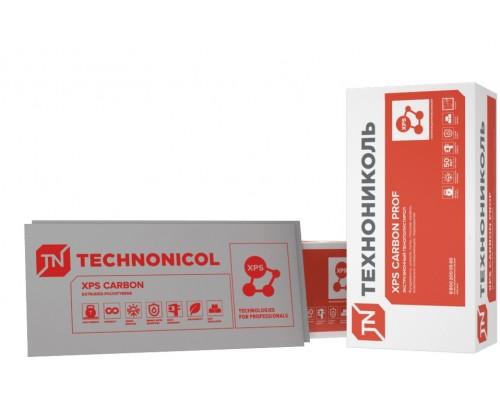 Экструзионный пенополистирол ТЕХНОНИКОЛЬ XPS CARBON PROF (1180*580*60х7; 0,287м3/уп)