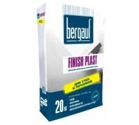 Шпаклевка финишная полимерная Бергауф Финиш Пласт (Bergauf Finish Plast) белая, 20кг