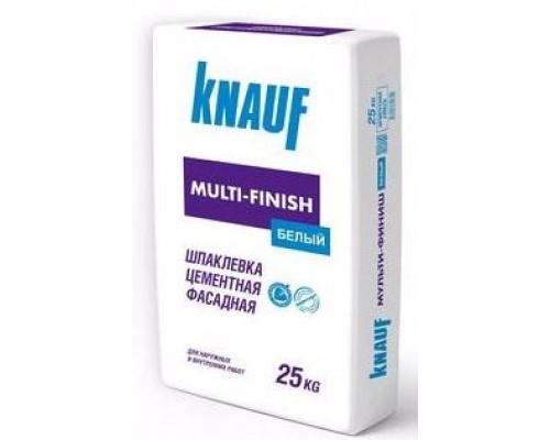 Шпаклевка цементная Кнауф Мультифиниш (Knauf Multi-Finish) белая, 25кг