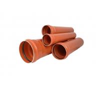 Труба НПВХ Дн110х2,7 Ру6,3 L=6, 12м. 125 SDR41 (50), Хемкор