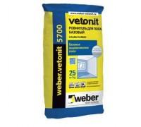 Ровнитель для пола Вебер.Ветонит 5700 (weber.vetonit 5700) базового выравнивания создания стяжек и уклонов, толщ.5-70мм, 25кг