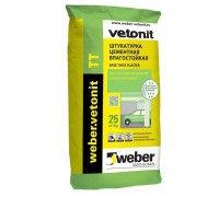 Штукатурка цементная Вебер.Ветонит ТТ (weber.vetonit TT), толщ.2-10мм, 25кг
